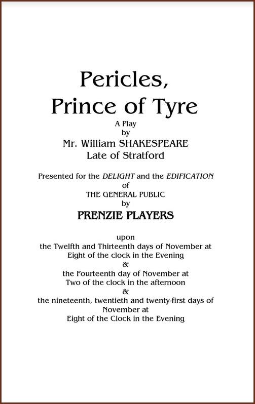 Pericles program