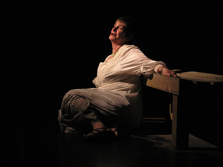 Dee Canfield in Trojan Women