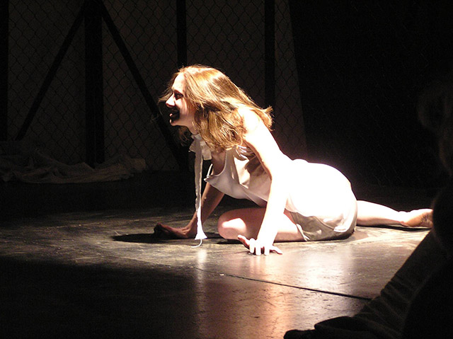 Stephanie Moeller in Trojan Women