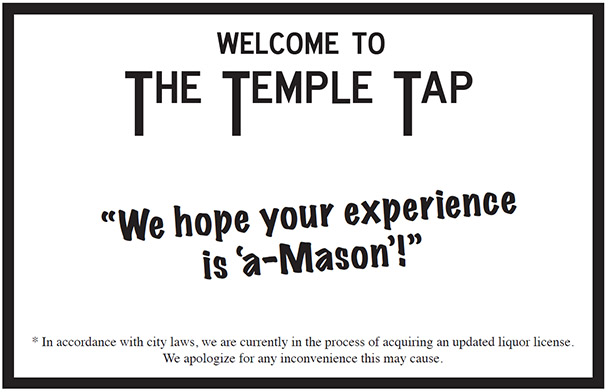 The Temple Tap