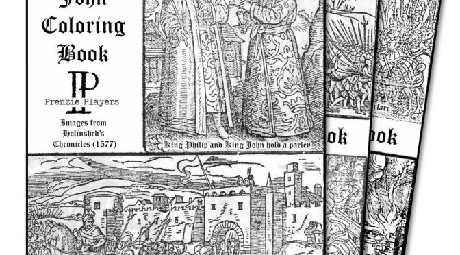 King John Coloring Book