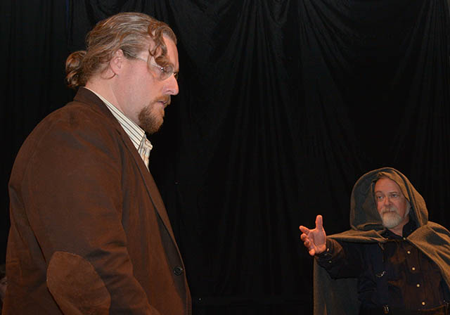 Faustus picture: Aaron Sullivan and John Turner