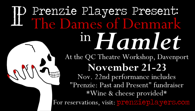 The Dames of Denmark in Hamlet