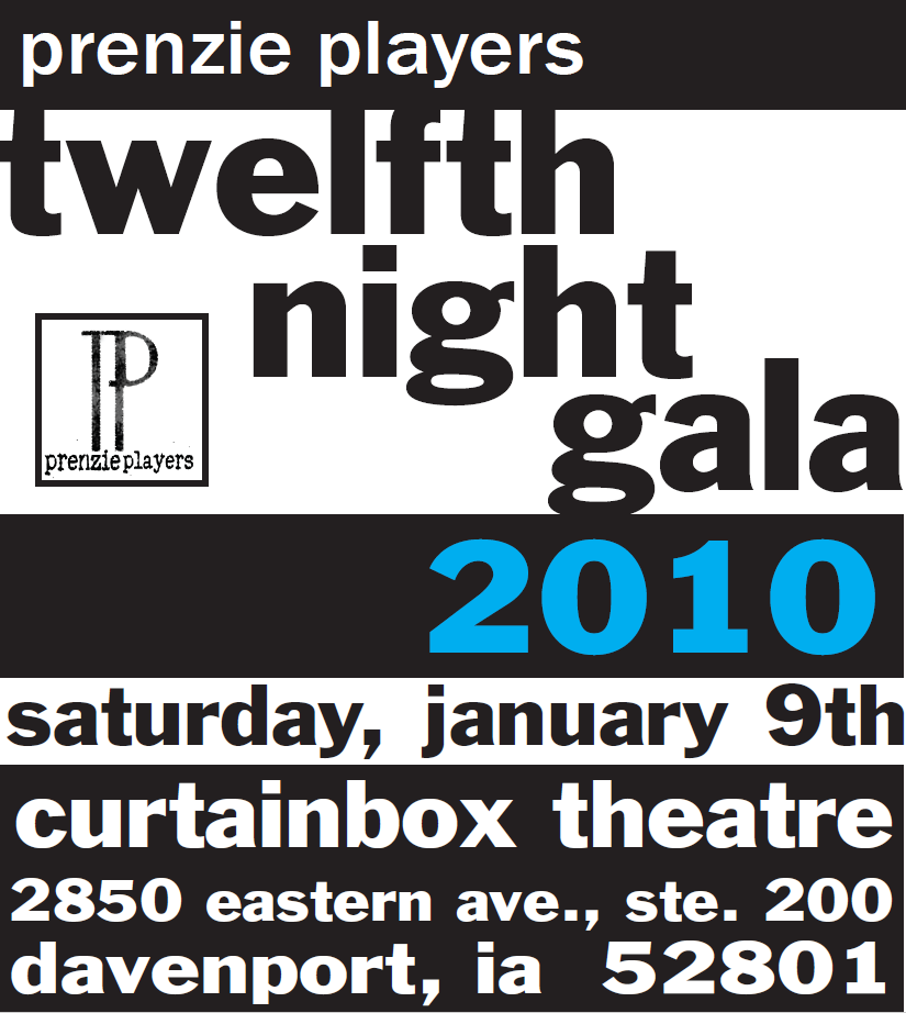 2010 Twelfth Night Ad